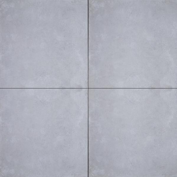 GeoCeramica® 80x80x4 Concreet Silver