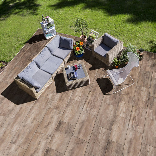 GeoCeramica® 120x30x4 Timber Noce