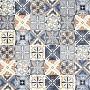 GeoCeramica®60x60x4 DueDecora Multicolor