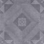 GeoCeramica® 60x60x4 Symbol Block Black