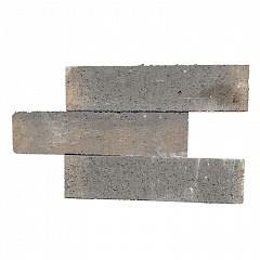 Patioblok strak 60x12x12 cm Bruin/Zwart
