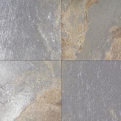 GeoCeramica® 60x60x4 Multicolor Stone Mix Dark