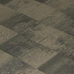 MB Vlakstone 20x30x4 grijs/zwart genuanc