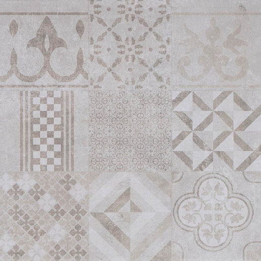 GeoCeramica® 60x60x4 Mosaik Beige