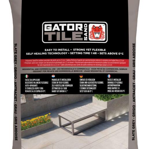 MBI Gator Tile Sand Antraciet zak 16kg