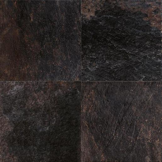 GeoCeramica® 60x60x4 Ardesie Black Reef
