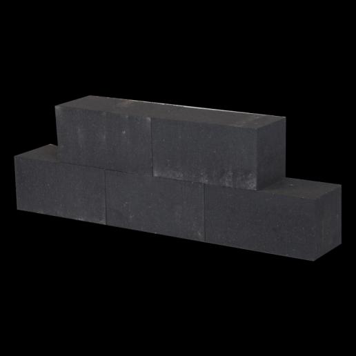 Patioblok Antraciet 30x15x15cm strak